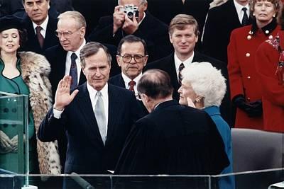 President George Herbert Walker Bush Poster