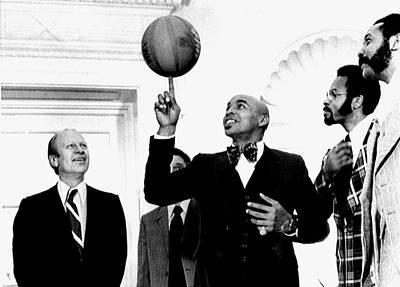 President Gerald Ford, Enjoys Poster
