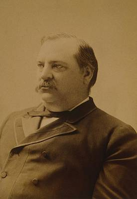 President Grover Cleveland 1837-1908 Poster by Everett