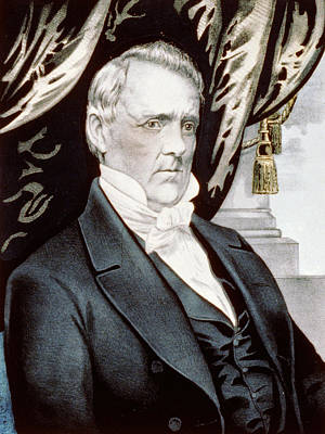President James Buchanan Poster by International  Images