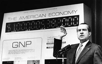 President Richard Nixon Unveiled A New Poster