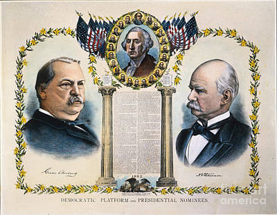 Presidential Campaign, 1892 Poster by Granger