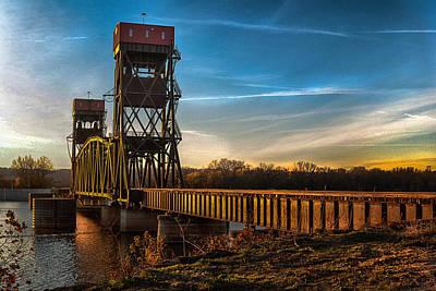 Preston'strain Bridge Poster by Kimberleigh Ladd