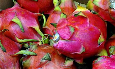 Pretty Ugly Fruit Poster by Deborah  Crew-Johnson