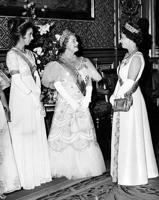 Princess Anne, Queen Elizabeth Poster