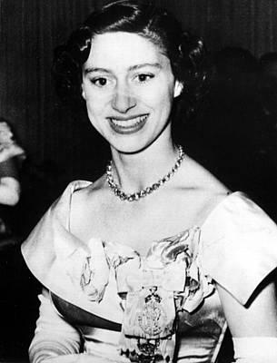 Princess Margaret, Portrait Poster by Everett