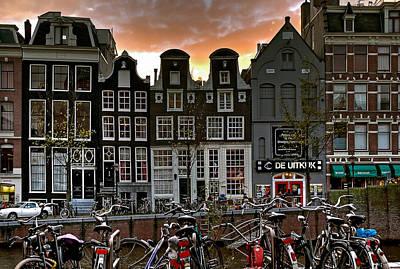 Prinsengracht 458. Amsterdam Poster