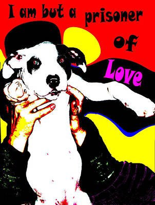 Poster featuring the painting Prisoner Of Love by Jann Paxton