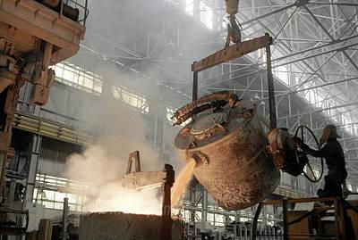 Production Of Aluminium Poster