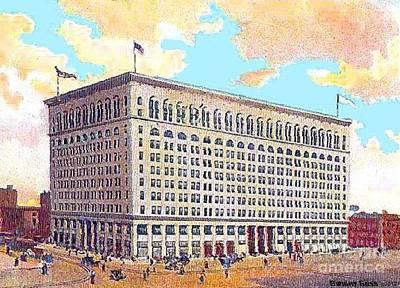 Proposed John Wanakamer Store In Philadelphia Pa In 1910 Poster by Dwight Goss