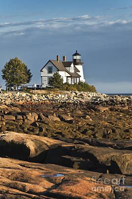Prospect Harbor Lighthouse Poster by John Greim