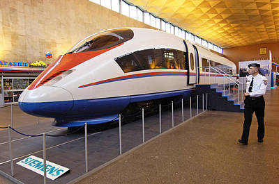 Prototype Siemens High-speed Train Poster by Ria Novosti