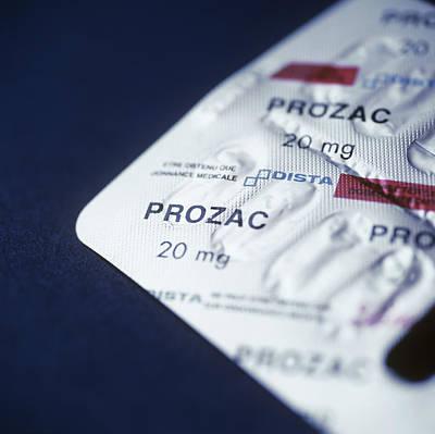 Prozac Poster by Cristina Pedrazzini