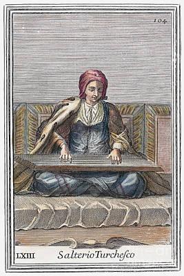 Psaltery, 1723 Poster by Granger
