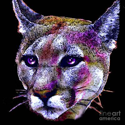 Puma Portrait Poster