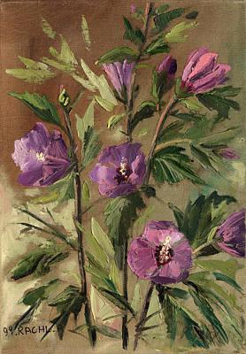 Purple Flowers 2 Poster