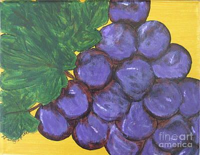Purplest Purple Poster