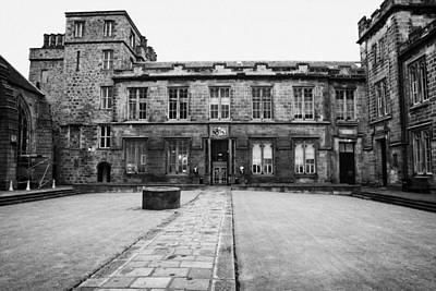 Quadrangle Of Kings College University Of Aberdeen Scotland Uk Poster