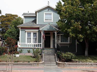 Quaint House Architecture - Benicia California - 5d18594 Poster