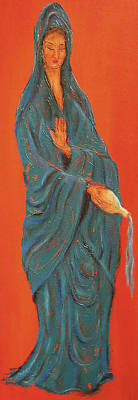 Quan Yin Pouring Poster by Suzan  Sommers