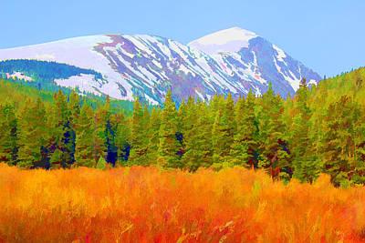 Quandary Peak Poster by Brian Davis