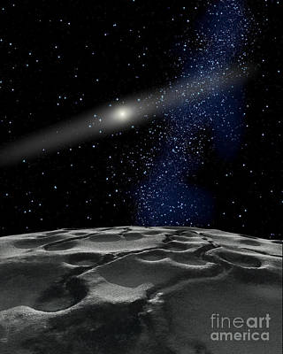 Quaoar Is A Large Kuiper Belt Object Poster by Ron Miller