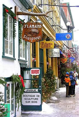 Quebec's Old City 2 Poster