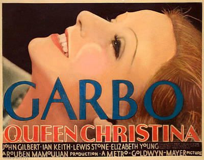 Queen Christina, Greta Garbo, 1933 Poster by Everett