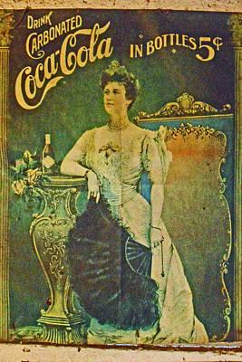 Queen Drinks Coca Coala Poster