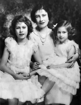 Queen Mother Elizabeth Center Poster by Everett