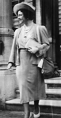 Queen Mother Elizabeth, Queen Poster