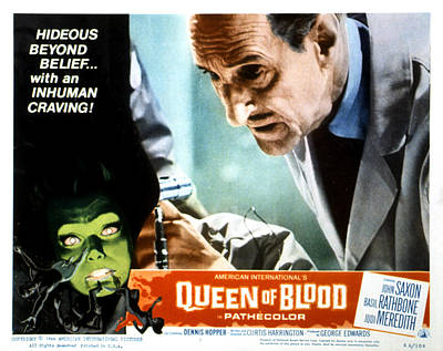 Queen Of Blood, Lobbycard, Basil Poster