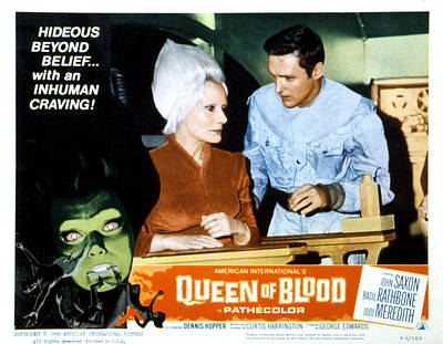 Queen Of Blood, Lobbycard, Florence Poster