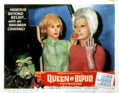 Queen Of Blood, Lobbycard, Judi Poster