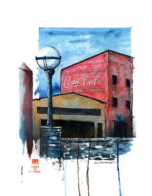 Quick Draw 2012 Poster by Daniel Paul Murphy