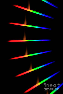 Quicklime Spectra Limelight Poster by Ted Kinsman