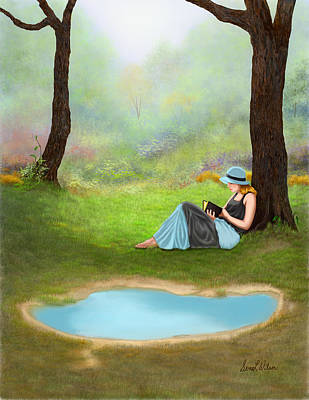 Quiet Time Poster by Sena Wilson