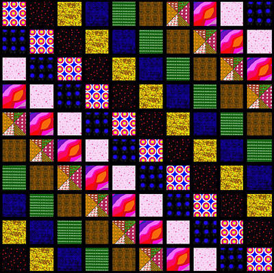 Quilt 1 Poster by Peri Craig