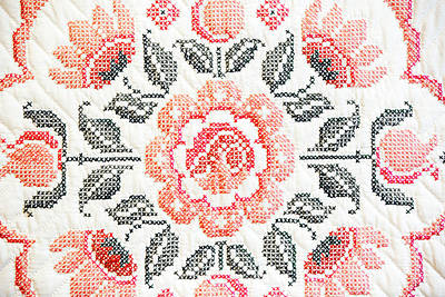 Quilted Rose 2 Poster by Marilyn Hunt