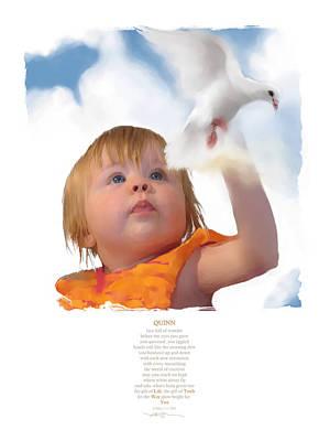 Quinn Poster by Bob Salo