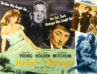 Rachel And The Stranger, Loretta Young Poster