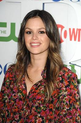 Rachel Bilson Wearing An Erdem Resort Poster