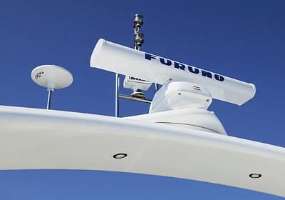 Radar On A Cruise Ship Poster by Mark Sykes