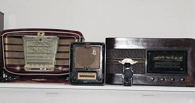 Radio Sets From The 1940s And 1950s Poster by Ria Novosti