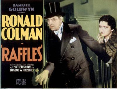 Raffles, Ronald Colman, Kay Francis Poster by Everett
