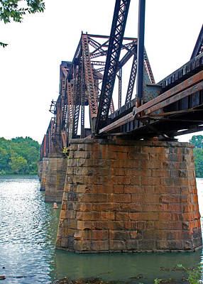 Poster featuring the photograph Railroad Bridge 2 by Kay Lovingood
