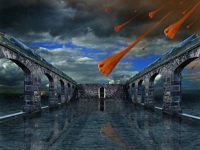 Rain  Poster by Mariusz Zawadzki