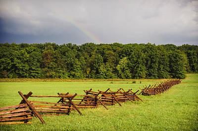 Rainbow Over Gettysburg Poster by Jen Morrison