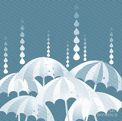Rainy Day Poster by HD Connelly