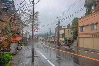 Rainy Day Nikko Poster